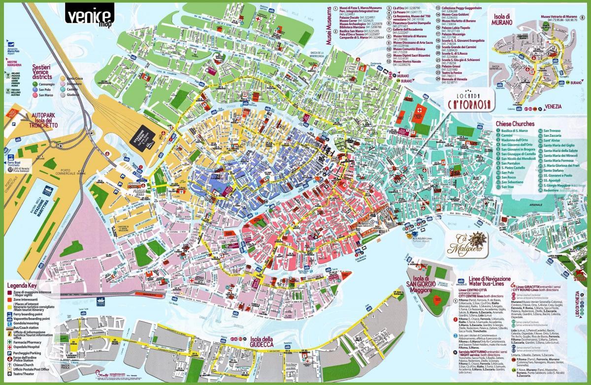 Venezia Cartina Italia.Venezia Mappa Di Italia Mappa Venezia Italy Italia