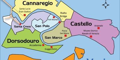 Cartina Vaporetti Venezia.Venezia Vaporetto Mappa Vaporetto Venezia Mappa Italia